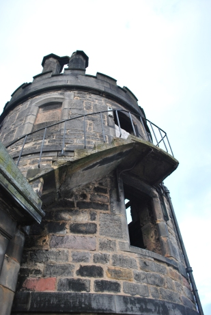 Ruinous Tower, Edinburgh