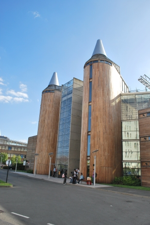 Ventilation Towers, Nottingham University, Nottingham